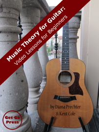 Music Theory for Guitar: Video Lessons for Beginners book