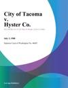 City Of Tacoma V Hyster Co