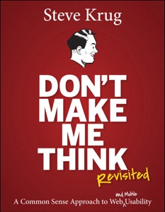 Don't Make Me Think, Revisited Book Cover