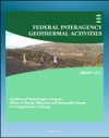 Geothermal Power Federal Interagency Geothermal Activities Challenges To Geothermal Energy Development Federal Role Future Direction Enhanced Geothermal Systems EGS