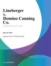 Lineberger V Domino Canning Co