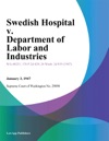 Swedish Hospital V Department Of Labor And Industries