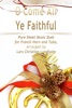 O Come All Ye Faithful Pure Sheet Music Duet For French Horn And Tuba, Arranged By Lars Christian Lundholm