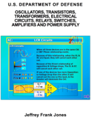 OSCILLATORS, TRANSISTORS, TRANSFORMERS, ELECTRICAL CIRCUITS, RELAYS, SWITCHES, AMPLIFIERS AND POWER SUPPLY