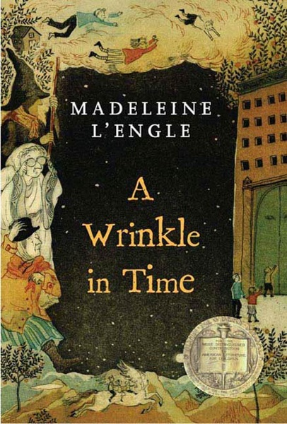 A Wrinkle in Time - Madeleine L'Engle book cover