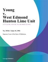 Young V. West Edmond Hunton Lime Unit