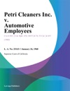 Petri Cleaners Inc V Automotive Employees