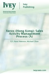Xerox Hong Kong Sales Activity Management Process A