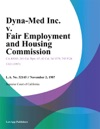 Dyna-Med Inc V Fair Employment And Housing Commission
