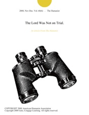 Download The Lord Was Not on Trial.