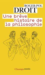 Une brève histoire de la philosophie La couverture du livre martien