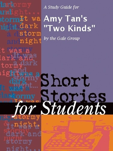 The Gale Group - A Study Guide for Amy Tan's