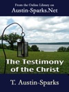 The Testimony Of The Christ