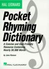 Hal Leonard Pocket Rhyming Dictionary Music Instruction