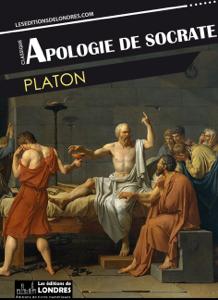 Apologie de Socrate La couverture du livre martien