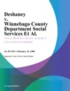Deshaney V Winnebago County Department Social Services Et Al
