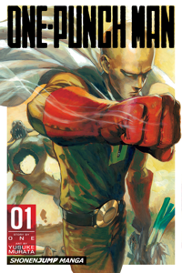One-Punch Man, Vol. 1 La couverture du livre martien