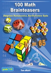 100 Math Brainteasers (Grade 7, 8, 9, 10)