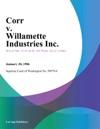 Corr V Willamette Industries Inc