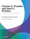 Charles E Prentice And Jane G Prentice