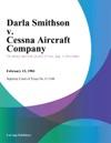 Darla Smithson V Cessna Aircraft Company