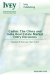 Cadim The China And India Real Estate Market Entry Decisions