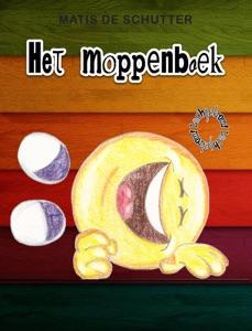 Het moppenboek Door Matis De Schutter Boekomslag