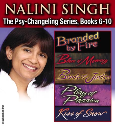 Nalini Singh - Nalini Singh: The Psy-Changeling Series Books 6-10