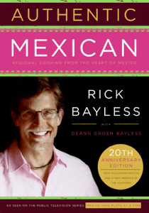 Authentic Mexican Book Cover