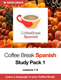 Coffee Break Spanish Study Pack 1 book