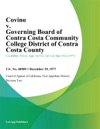 Covino V Governing Board Of Contra Costa Community College District Of Contra Costa County