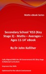 Secondary School KS3 Key Stage 3  Maths  Averages  Ages 11-14 EBook