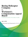 Boeing Helicopter Company V Workmens Compensation Appeal Board Mccanney