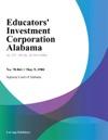 Educators Investment Corporation Alabama