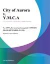 City Of Aurora V YMCA
