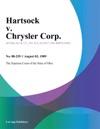 Hartsock V Chrysler Corp