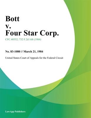 Bott v. Four Star Corp.