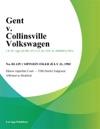 Gent V Collinsville Volkswagen