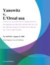 Yanowitz V Loreal Usa