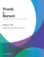 Download and Read Online Woody v. Barnett
