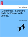 Gleanings Scripture Texts For Easter With Verses
