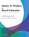 112393 Shelley D Whitlow V Board Education