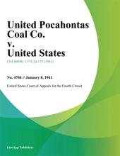 United Pocahontas Coal Co. v. United States
