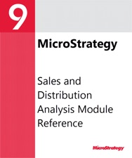 Sales And Distribution Analysis Module Reference For Microstrategy