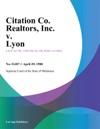 Citation Co Realtors