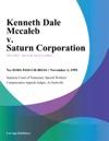 110295 Kenneth Dale Mccaleb V Saturn Corporation