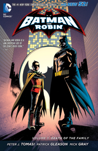 Batman and Robin Vol. 3: Death of the Family Libro Cover