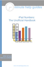 iPad Numbers - Minute Help Guides