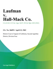 Download and Read Online Laufman v. Hall-Mack Co.
