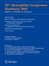 35th Hemophilia Symposium Hamburg 2004